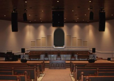 Mercy Missionary Baptist Church – Sanctuary